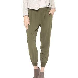 Joie Mariner Crop Jogger Pants Fatigue Green